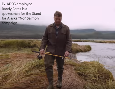 """The Perfect Mouthpiece for the Corporate """"NO"""" Salmon Campaign"""