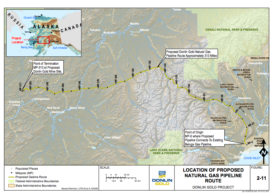 Inletkeeper Joins Alaska Natives in Lawsuit Over Donlin Pipeline