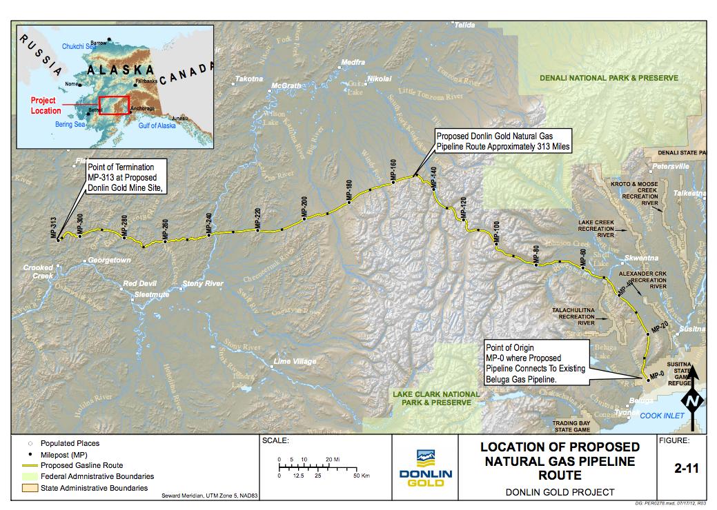 donlin pipeline map