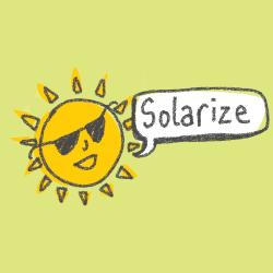 Solarize Web Icon